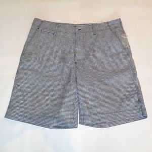 Club Room Size 40 Waist Black White Cotton Shorts